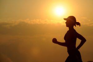 running, runner, silhouette